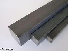 Vierkanstahl ab 8x8 - 40x40 mm wählbar Vierkanteisen - Vierkantstange