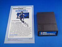 INTELLIVISION --> NBA BASKETBALL / CARTRIDGE