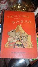 pique nique chez babar laurent de brunhoff 1949