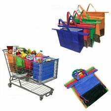 Reusable Trolley Bags For Shopping Cart Grocery Bags for Hot or Cold Groceries
