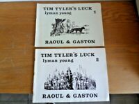 Rare 2 tomes Raoul & Gaston Tim Tyler's Luck edition RTP an'70