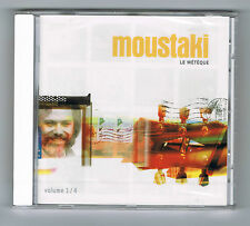MOUSTAKI - LE MÉTÈQUE - VOL 1/4 - CD NEUF NEW NEU