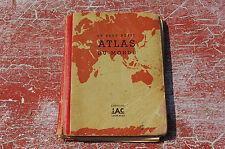 IAC éditions 1940 - LE PLUS PETIT ATLAS DU MONDE - 11 cm / 8 cm----/A10/