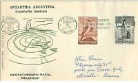 TIMBRES.N°2884.EXPEDITION POLAIRE..ANTARDIDA ARGENTINA-MOREL FRANCE.1970.TIMBRES