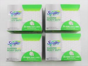 Swiffer Sweeper Dry Heavy Duty Sweeping Cloths 10.3 in. x 7.8 in. 40 ct.