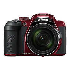 Nikon Coolpix B700 20.2MP 4K Digital Camera 60x Optical Zoom Red WiFi/ NFC