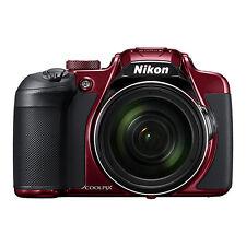 Nikon Coolpix B700 20.2MP 4K Digital Camera 60x Optical Zoom Red WiFi/ NFC