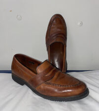 Allen Edmonds Fairmont Penny Loafer Brown Leather Men 10.5D Dress Shoe 1189