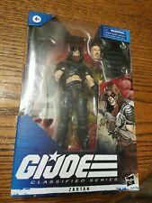 G.I. Joe Classified Series *Rare* Version with no cut hole Zartan 6in
