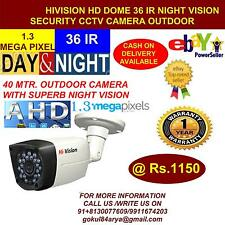 HiVision CCTV 1.3 MP HD CCTV Camera with 40 Mtr. Night Vision Bullet (Outdoor)