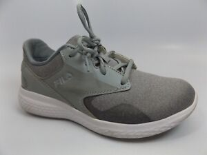 Fila Women's Memory Foam Athletic Running Shoes Gray SZ 7.0 M, PRE OWNED, D11813