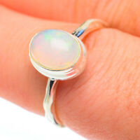 Ethiopian Opal 925 Sterling Silver Ring Size 7.75 Ana Co Jewelry R61365F