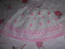 BONPOINT top ou tunique ou blouse blanche et fluo taille 3 ans très bon état