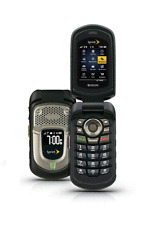 Kyocera DuraXT E4277 - Black ( Sprint) Rugged Cellular Flip Phone