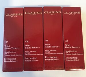 Clarins Everlasting Liquid Foundation Spf-15- 30ml- Choose Shade-Free UK Post-