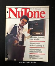 Vintage 1979 Nutone / Radio Intercom / Catalog
