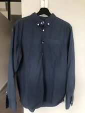 Penfield Mens 100% Cotton Shirt Navy Size L