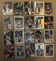 DAVID ROBINSON 20 CARD LOT UPPER DECK STADIUM FLEER 3 INSERTS SPURS