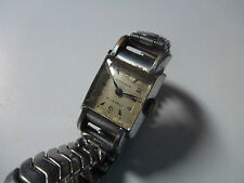 LADY WATCH MONTRE LAVINA 17 JEWELS SWISS MADE STAINLESS STEEL BACK ACIER VINTAGE