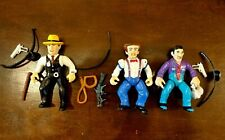 Dick Tracy Playmates Toys Lot of 5 action figures Complete Disney 1990 Vintage