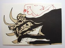 "ANTONIO SAURA vintage ltd ed original lithograph, 22 x 14"", Maeght 1986 N0620"
