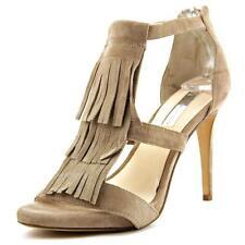 Sandalias y chanclas de mujer de color principal crema Ante Talla 40
