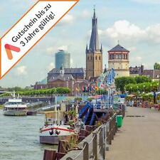 Kurzreise Düsseldorf 3 Tage für 2 Personen zentrales 4 Sterne Hotel Gutschein