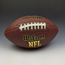 New listing Nfl Football Composite Leather Junior Football For 9 To 12 Year Old