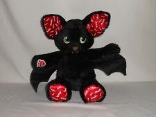 Build-A-Bear Plush Spooktacular Boo-rrific Black Glow-in-the-Dark Vampire Bat