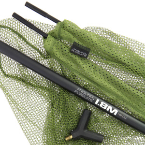 """Angling Pursuits 42"""" Net and Handle Combo- 42"""" Cap/Pike Net with 1.8m 2pc Handle"""