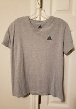 Women's Adidas Gray T-shirt Top Medium