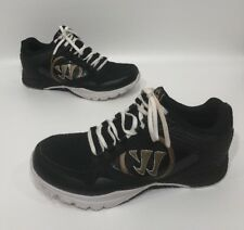 Warrior By New Balance Mens Black/gold Athletic Shoes Size 10 D