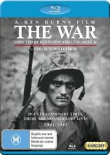 A War, The - Film By Ken Burns (Blu-ray, 2017, 6-Disc Set)