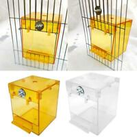 Hanging Bird Bathtub Parrot Bath Shower Box Bowl Cage Wash Space Accessories