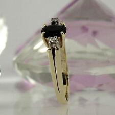 Ovale Echte Edelstein-Ringe mit Saphir für Damen