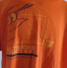 Baltimore Orioles MLB Tshirt Oriole Bird Orange Cotton Size 2XL XXL
