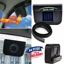 Solar Power Exhaust Ventilation Car Window Fan Auto Ventilator Vehicle Air Vent