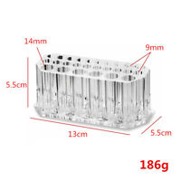Makeup Brushes Displaying Holder Storage Container Multi Grids Acrylic Case