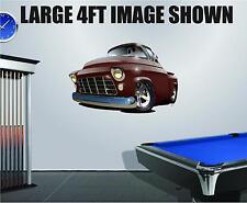 DB 1955-56 Chevy Pickup Wall Decal Vinyl Sticker Peel Stick Cartoon Car 2ft