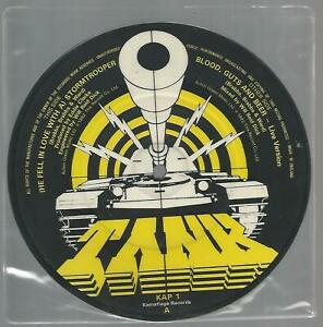 """TANK - (He Fell In Love With A) Stormtrooper 1982 UK 7"""" pic disc VG/VG"""