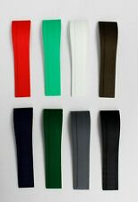 Silicone Rubber Strap for Rolex Daytona Style Watch 20mm
