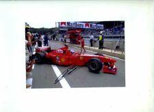 Mika Salo Ferrari F399 Austrian Grand Prix 1999 Signed Photograph 1