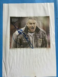 Dave Jones - Cardiff City Football Signed Picture
