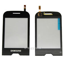 SAMSUNG S7070 Nero Digitizer Touch Scren LENS GLASS DIVA ricambio Pad