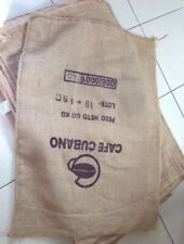 Hessian Sacks coffee bean Large And Strong Bags Jute sizes may vary 100Cm X 60Cm