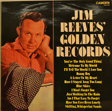 """JIM REEVES GOLDEN RECORDS - VARIOUS SONGS 12"""" LP (U363)"""