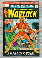 Marvel Premiere 1. 1st Adam Warlock & Soul Gem. 1972.