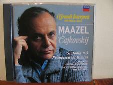MAAZEL Cajkovskji sINFONIA N.5-Wiener Phil-CD-DECCA-Grandi interpreti-DeAgostini