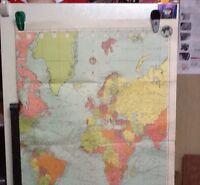 General Map of the The World, Post World War II era
