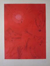 Universo y magia de Joan Ponç (Ponc) Original Etching S/N